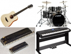 Những loại nhạc cụ dễ chơi dành cho người yêu âm nhạc
